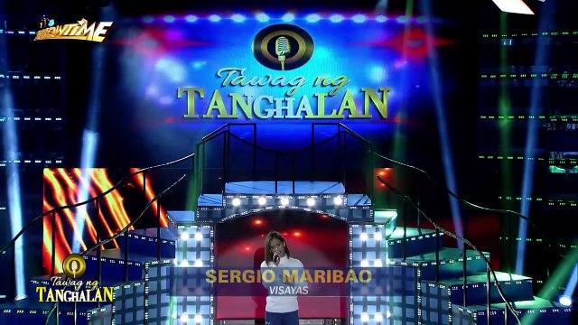 20180626_itsshowtime_TNT 3_ Visayas contender Sergio Maribao sings Erik Santos_