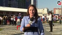Canlı Yayın Yapan Kadın Muhabiri Taciz Eden Adam