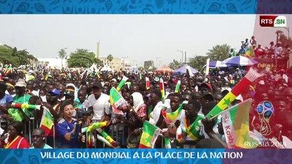 Japon VS Senegal : du Monde au Village du Mondial à la Place de la Nation