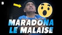 Le malaise de Diego Maradona après Argentine 2-1 Nigeria