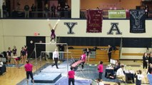 Jessica Wang Uneven Bars Yale 2-13-16