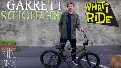 GARRETT REYNOLDS - WHAT I RIDE (BMX BIKE CHECK)