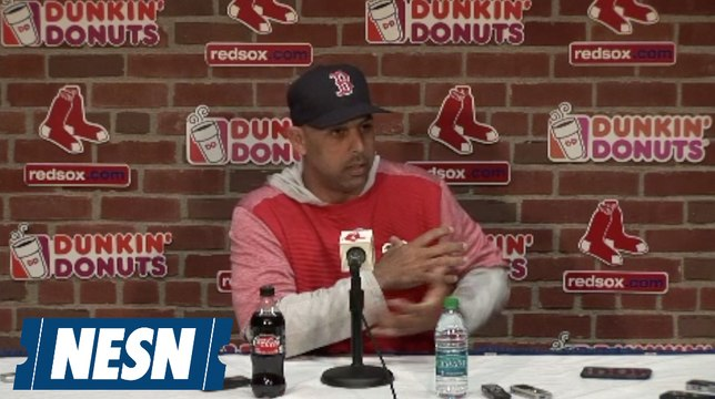 Alex Cora Compares Mookie Betts and Mike Trout