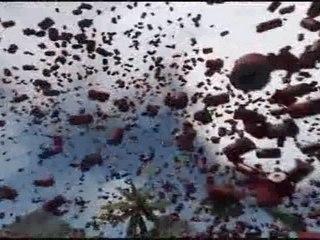 Explosions dans Crysis