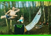 You'll Long to Try Out This Extreme 100-Foot Forest Slip'N Slide