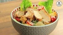 Darf`s mal ein Salat sein? Wie wäre es mit einem leckeren Caeser Salad? ZUM REZEPT