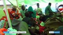 """Migrants : le bateau humanitaire """"Lifeline"""" accoste à Malte"""