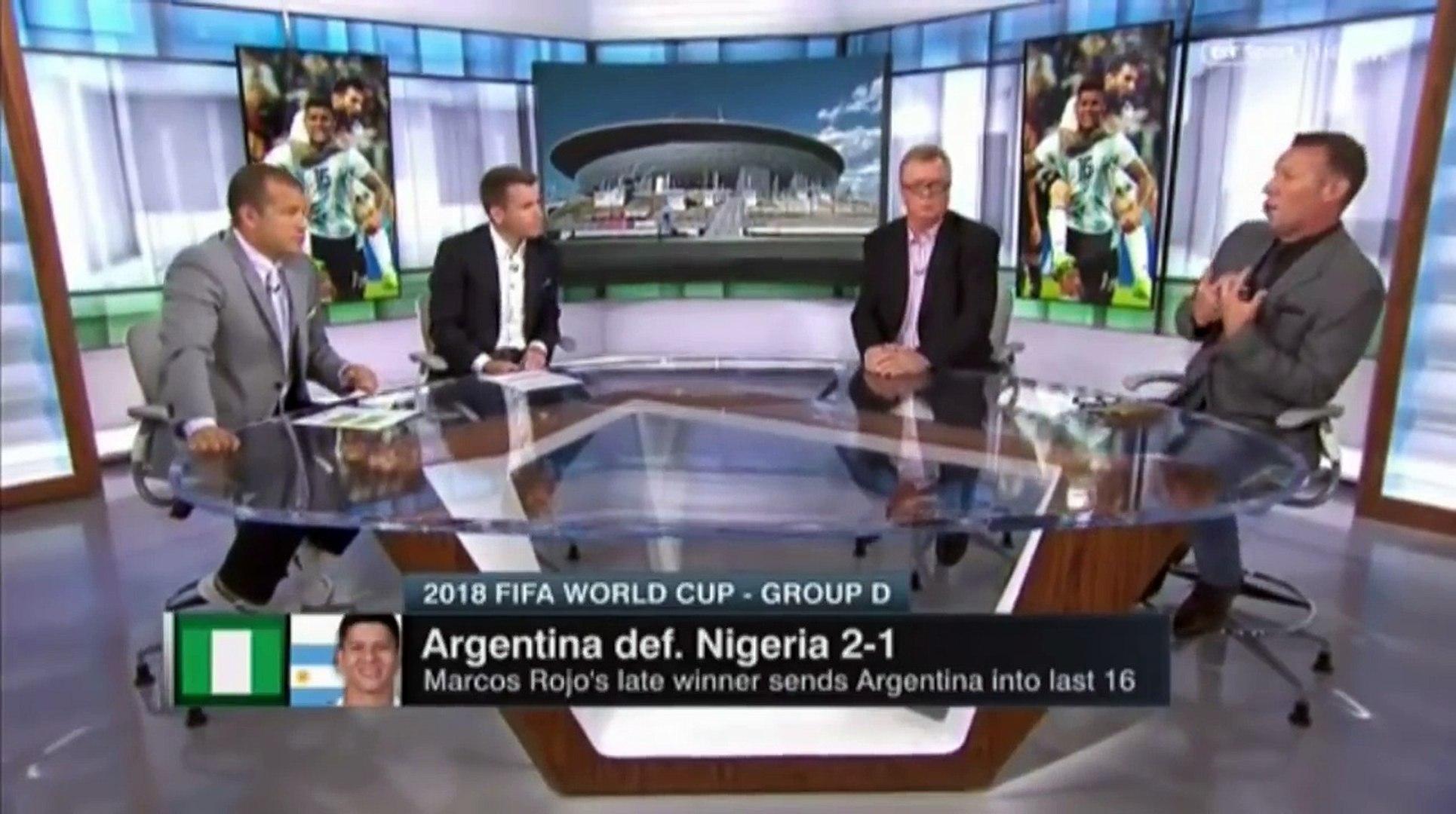 ESPN FC - Argentina Poor Performances vs Nigeria   Nigeria vs Argentina 1-2 & France vs Argentin