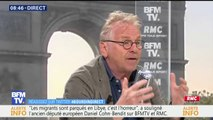 """Crise migratoire: Daniel Cohn-Bendit ne veut pas dénoncer les ONG mais estime que leur travail """"ne fonctionne pas"""""""