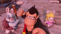 Mario + The Lapins Crétins Kindgom Battle Donkey Kong Adventure - Trailer de lancement