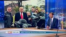 L'Europe taxe les motos américaines: Trump est surpris