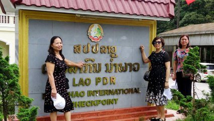 Tập 2 - Laksao Thị Trấn Vùng Biên - Du Lịch Lào Thái Lan 2018