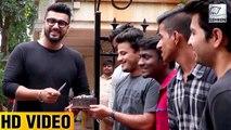 Arjun Kapoor Gets Sweet Birthday Surprise From Fans