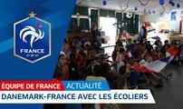 Equipe de France : Danemark-France avec les écoliers I FFF 2018