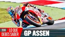 VIDEO:  Claves MotoGP Assen 2018