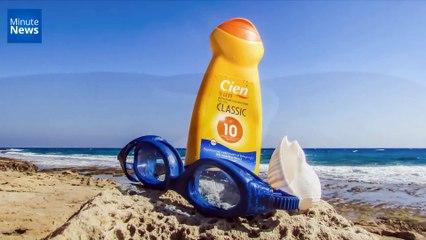 La crème solaire pollue les mers et les océans...