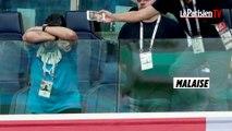 Maradona s'endort et fait des doigts d'honneur au match Nigeria-Argentine
