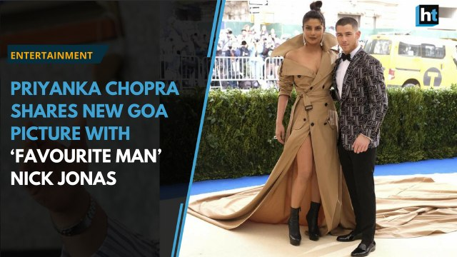 Priyanka Chopra shares new Goa picture with 'favourite man' Nick Jonas