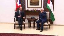 Prince William meets Palestinian President Mahmoud Abbas