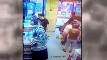 Hırsızlık anı güvenlik kamerasında - İZMİR