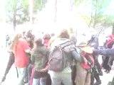 Film amateur de l'évacuation de l'UPV