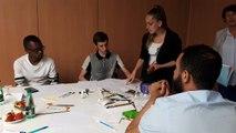 La Mission locale et la Maison de l'emploi du Grand Nancy ont organisé un rencontre entre des restaurateurs et des jeunes en insertion