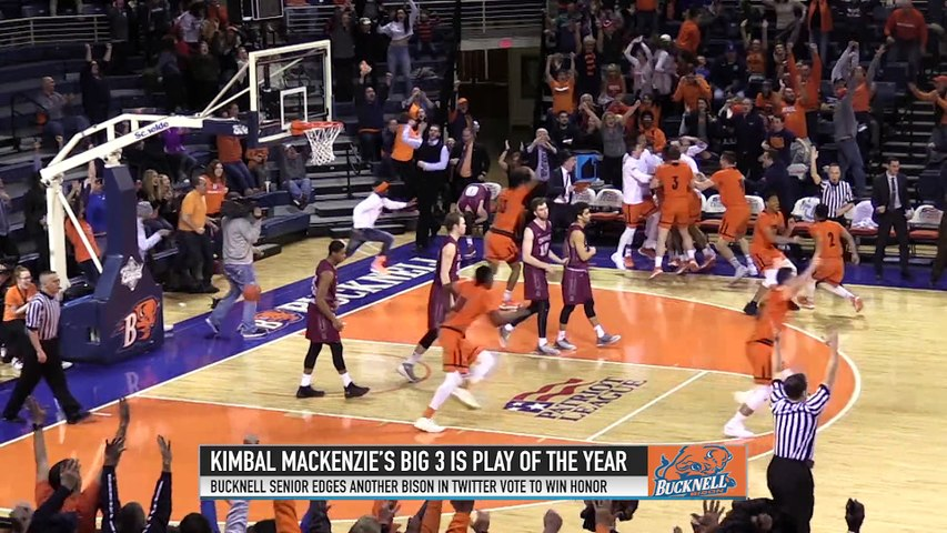 Bucknell's Mackenzie wins Patriot League Top Play of the Year