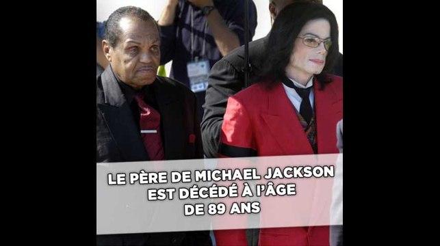 Joe Jackson, le père de Michael Jackson, est décédé à 89 ans