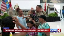 100 Soldiers Welcomed Home from Afghanistan in Oklahoma