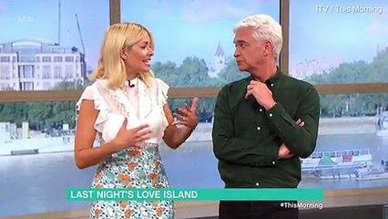 Holly Willoughby slams Love Island's Adam for behaviour towards Rosie