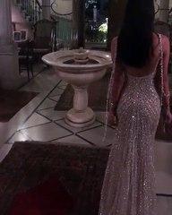 a5a46ae1f صور فستان سلمى أبو ضيف الجريء يثير ضجة: وهذا مصممه - ليالينا