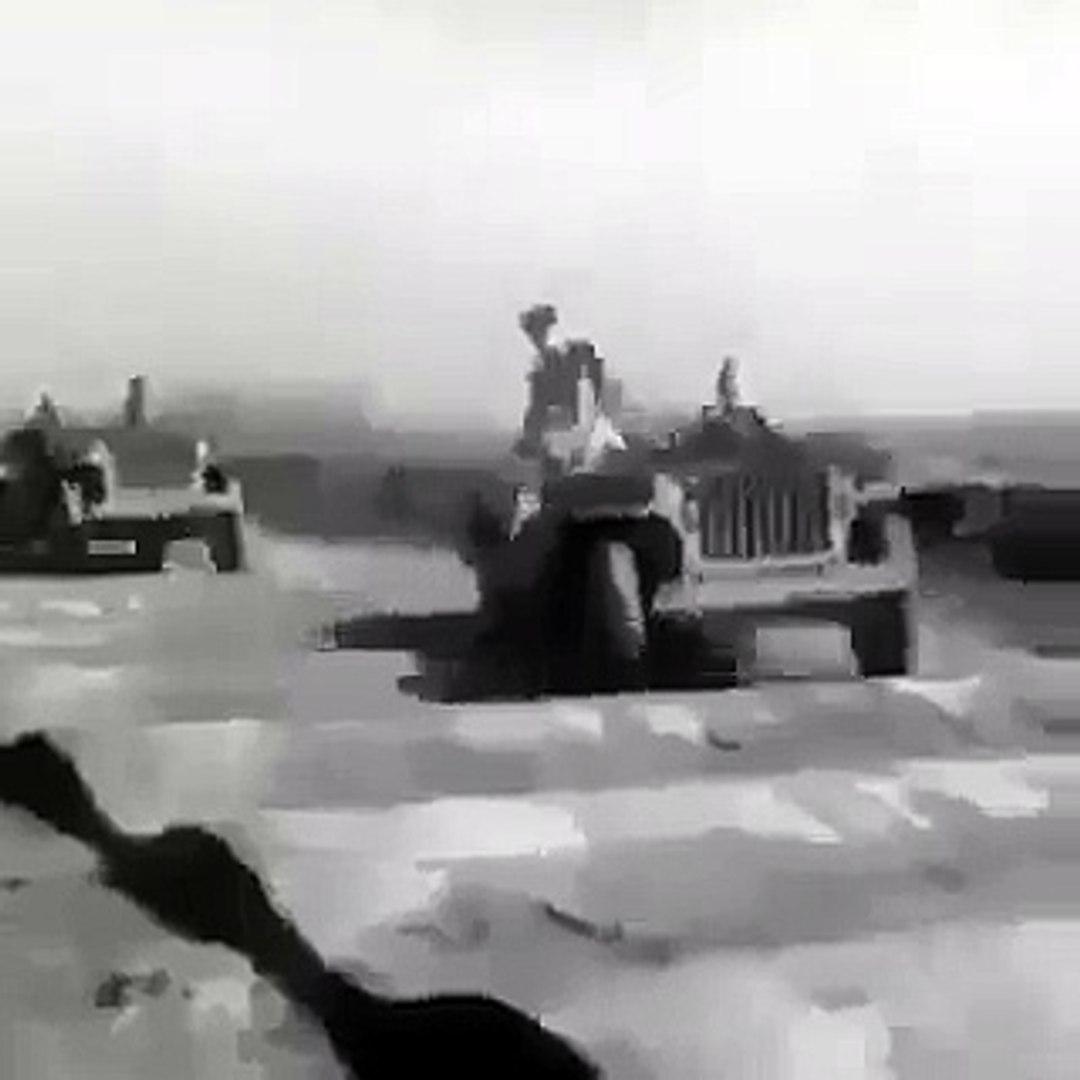 فيديو شاهد كيف كانت جيب تختبر سياراتها أثناء الحرب العالمية
