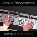 فيديو فتاة موهوبة تعزف أغنية صراع العروش على الآلات الحاسبة