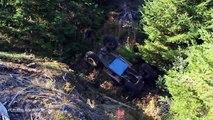 فيديو أخطاء سيارات الدفع الرباعي المخيفة التي تحدث عند التسلق!