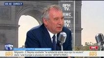 Soupçons d'emplois fictifs au MoDem: Bayrou dit ne pas avoir eu de nouvelles de la justice depuis un an