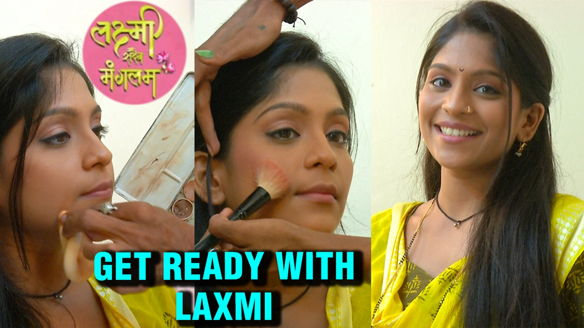 Laxmi Sadaiva Mangalam | Get Ready with Laxmi | Colors Marathi