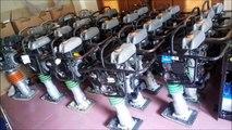 LH 0903437436 Bán máy đầm cóc bãi/ đầm cóc cũ mt55l Mikasa nhật Bản mới đến 90%