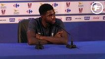 Samuel Umtiti en dit plus sur N'Golo Kanté !
