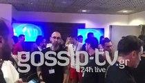 MAD VMA 18 Backstage: Ο χαιρετισμός του Ρουβά και η πετσέτα του Μαζωνάκη