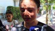 Championnats de France 2018 - Chrono Dames - L'émotion d'Audrey Cordon-Ragot après son 4e titre consécutif de championne de France