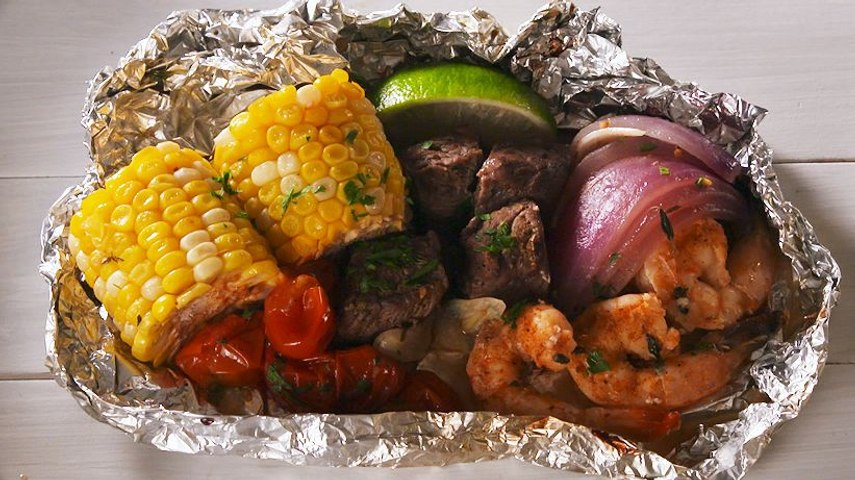 These Foil Packs Prove That Everything Tastes Better Cooked On The Grill