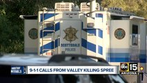 911 calls released from Valley killing spree