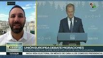 Discute Unión Europea si crea centros de detención de migrantes