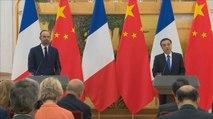 Conférence de presse conjointe d'Édouard Philippe, Premier ministre et de M. LI Keqiang, Premier ministre de la République populaire de Chine à Pékin