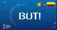 Sénégal - Colombie résumé  buts 0-1 / Coupe du monde