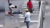 Video: Suspects Sucker-Punch Man In Bronx Street, Take Photos Of Him