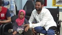 Suriyeli Maya Protez Tedavisi İçin Türkiye'de (1)