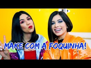 TUTORIAL DE MAKE COM A FOQUINHA!