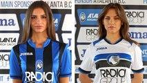 L'Atalanta Bergame dévoile ses nouveaux maillots avec des mannequins