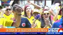 Selección Colombia avanzó a los octavos de final del Mundial